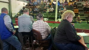 Auctioneer's Booth